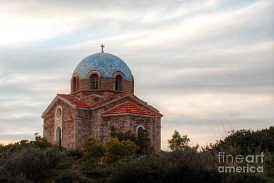 Photograph - Sounion Monasteraki Greece by Deborah Smolinske