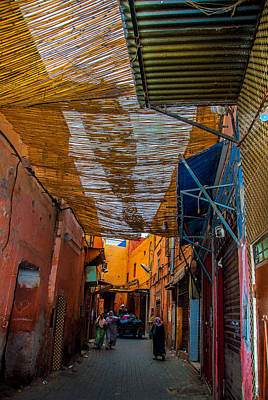 Photograph - Sounk In Marrakech by Ellie Perla