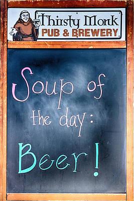 Photograph - Soup Of The Day by John Haldane