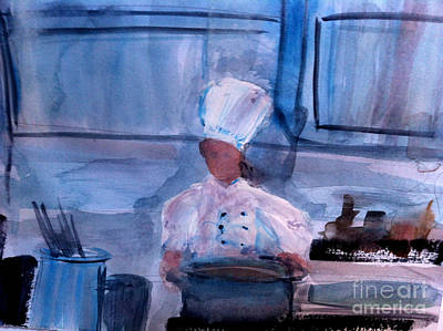 Cuisine Painting - Soups On by Sandra Stone