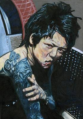 Sour Drawing - Sour Kyo by Katie Gotch