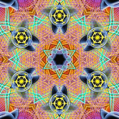 Digital Art - Source Fabric K1 by Derek Gedney