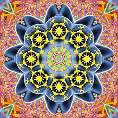 Digital Art - Source Fabric K2 by Derek Gedney
