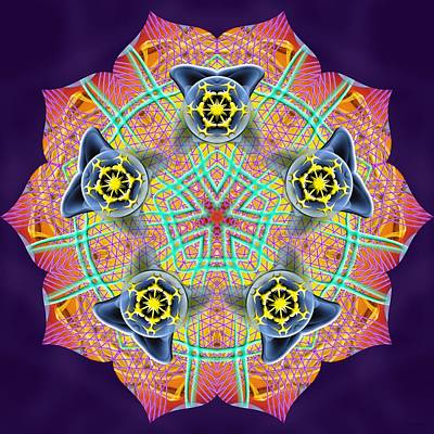 Digital Art - Source Fabric K3 by Derek Gedney