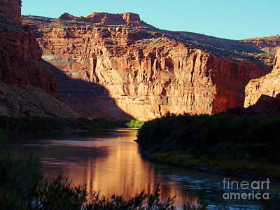 Source Of Colorado River Print by Eva Kato
