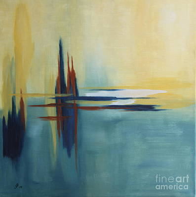Source Of Life - Abstract Painting Original by Christiane Schulze Art And Photography