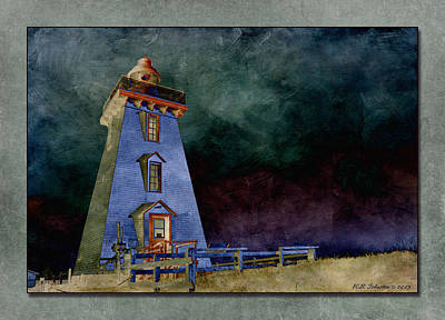Photograph - Souris Lighthouse by WB Johnston