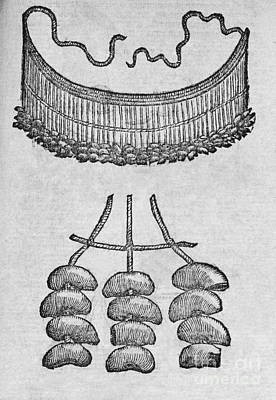 Soursop Seed Necklace, 16th Century Art Print