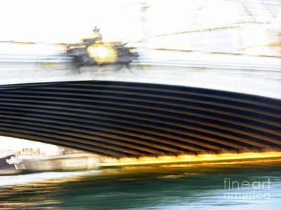 Photograph - Sous Un Pont... by Mariana Costa Weldon