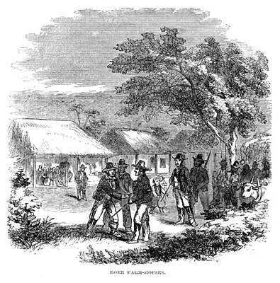 South Africa Farmhouse Art Print by Granger