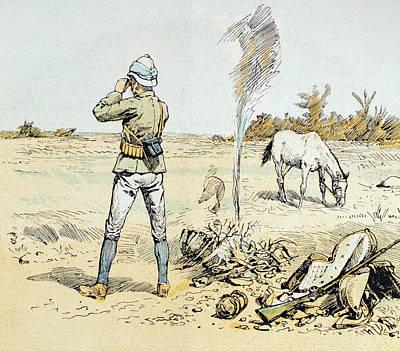 South Africa Hunter, 1891 Art Print by Granger