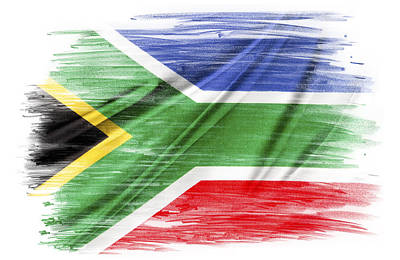 South Africa Print by Les Cunliffe