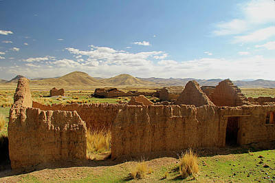 Andean Photograph - South America, Peru, The Andes by Kymri Wilt