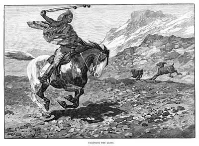 South American Hunter Art Print
