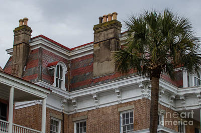 Photograph - South Battery Roofs by Dale Powell