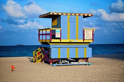 Photograph - South Beach 10 by Ricardo J Ruiz de Porras