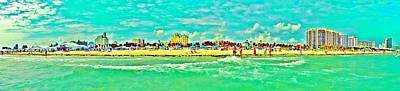 Royalty-Free and Rights-Managed Images - South Beach by Benjamin Yeager