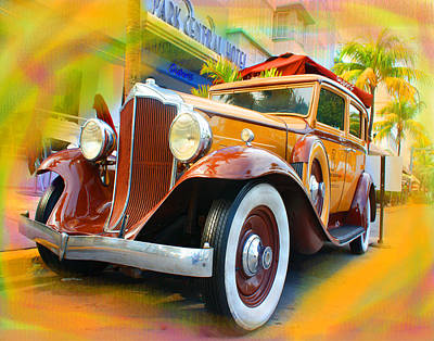 Collectible Mixed Media - South Beach Classic by Doug Walker