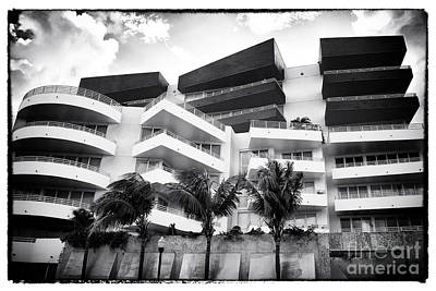 Photograph - South Beach Deco by John Rizzuto