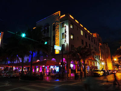 Photograph - South Beach - Edison Hotel 003 by Lance Vaughn