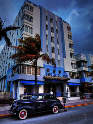 Central Park Photograph - South Beach - Park Central Hotel 001 by Lance Vaughn