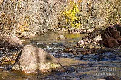 Steven Krull Royalty-Free and Rights-Managed Images - South Boulder Creek by Steven Krull