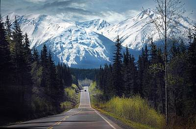 Photograph - South Bound On The Cassiar Highway by Dyle   Warren