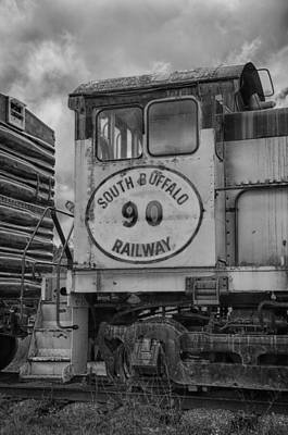 Photograph - South Buffalo Railway  7d06191b by Guy Whiteley