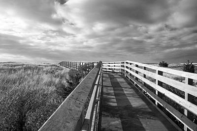 South Cape Beach Boardwalk Art Print