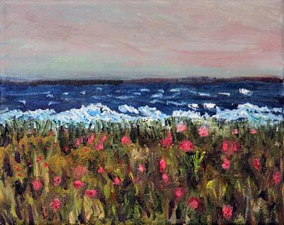 Mashpee Painting - South Cape Beach Sunset by Michael Helfen