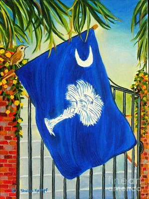 Painting - South Carolina - A State Of Art by Shelia Kempf