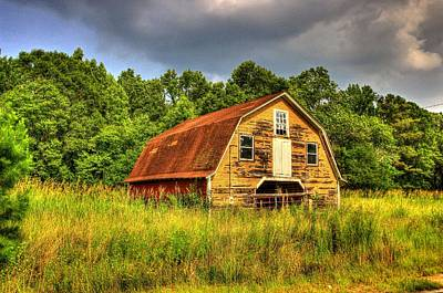 Photograph - South Carolina Barn by Ed Roberts