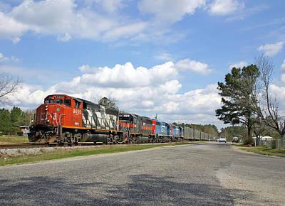 Photograph - South Carolina Central by Joseph C Hinson Photography