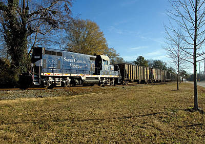 Photograph - South Carolina Central Railroad by Joseph C Hinson Photography