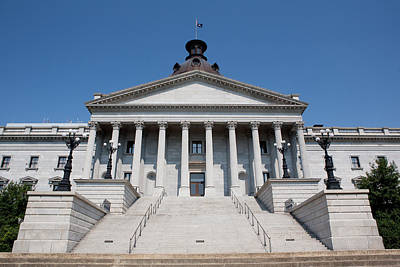 South Carolina State Capital Building Art Print