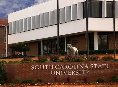 South Carolina State University 2 Art Print by Bob Pardue
