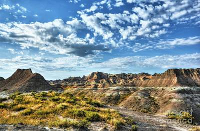 Photograph - South Dakota Badlands 2 by Mel Steinhauer