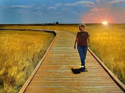 Photograph - South Dakota Prairie 1 by Gerald Greenwood