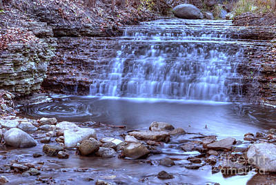 Photograph - South Elgin Falls 10 by Deborah Smolinske