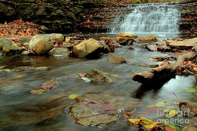 Photograph - South Elgin Falls 2 by Deborah Smolinske