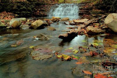 Photograph - South Elgin Falls 3 by Deborah Smolinske