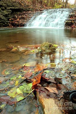Photograph - South Elgin Falls 4 by Deborah Smolinske