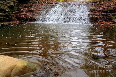 Photograph - South Elgin Falls 5 by Deborah Smolinske