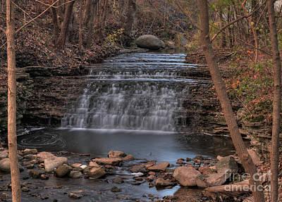 Photograph - South Elgin Falls 7 by Deborah Smolinske