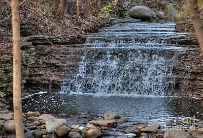 Photograph - South Elgin Falls 8 by Deborah Smolinske