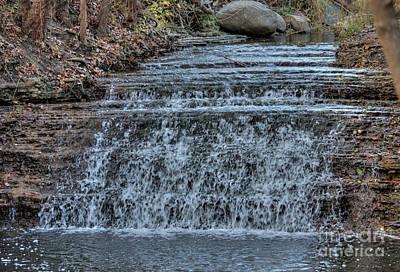 Photograph - South Elgin Falls 9 by Deborah Smolinske