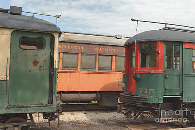 Photograph - South Elgin Trolley Museum 1 by Deborah Smolinske