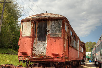 Photograph - South Elgin Trolley Museum 10 by Deborah Smolinske