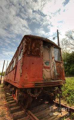 Photograph - South Elgin Trolley Museum 11 by Deborah Smolinske