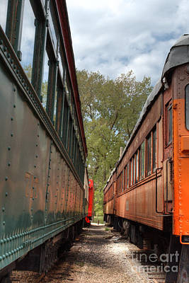 Photograph - South Elgin Trolley Museum 17 by Deborah Smolinske